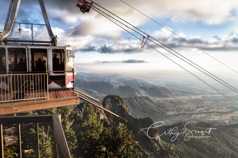 Tram Ride to the Top of the Sandia Mountain