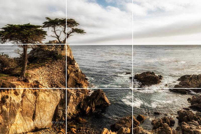 016 California Coastline w grid lines