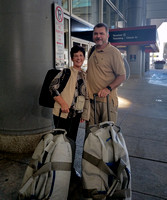 Cathy and Ridley off to Africa 2017