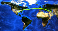 Houston to Dubai - 14 Hours