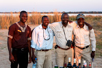 Royal Zambezi Staff at Sundowner