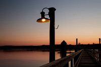 Single Light on the Boardwalk