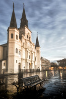 Saint Louis Cathedral morning