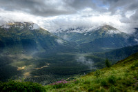 View from Mt Alyeska