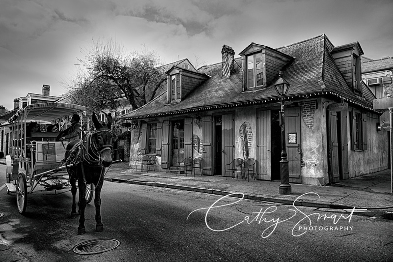 Lafitte's Blacksmith Shop in New Orleans, Louisiana