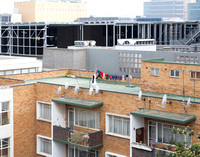 Another View from Hotel 54 on Bath, Johannesburg